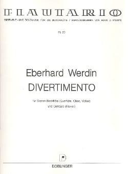 Eberhard Werdin - Divertimento - Sheet Music - di-arezzo.co.uk