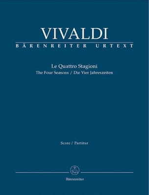 VIVALDI - The 4 Seasons - Driver - Sheet Music - di-arezzo.co.uk