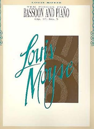 Louis Moyse - 10 Pieces Op. 37 n ° 5 - Partition - di-arezzo.com