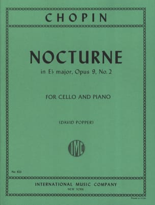 CHOPIN - Nocturne in E b major, op. 9 n ° 2 - Partition - di-arezzo.com