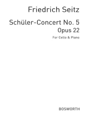 Concerto in D op. 22 - Cello - Friedrich Seitz - laflutedepan.com