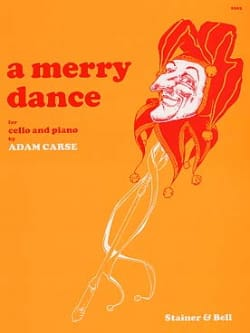 A Merry Dance Adam Carse Partition Violoncelle - laflutedepan