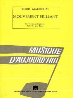 Mouvement brillant - Louis Marischal - Partition - laflutedepan.com