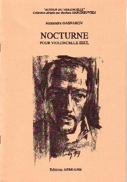 Alexandre Gasparov - Nocturne - Partition - di-arezzo.fr