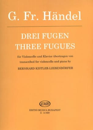 3 Fugen - Georg Friedrich Haendel - Partition - laflutedepan.com