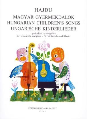 Hungarian Children's Songs Mihaly Hajdu Partition laflutedepan