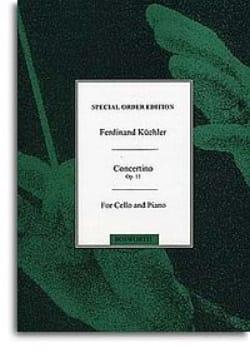 Concertino en sol majeur op. 11 - Cello - laflutedepan.com