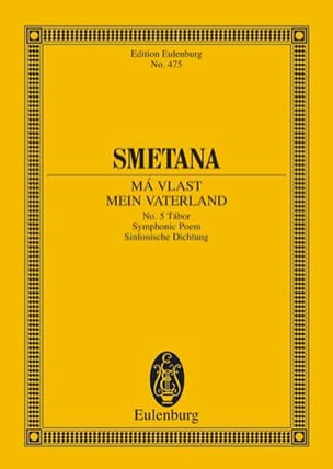 Tábor - Bedrich Smetana - Partition - Petit format - laflutedepan.com