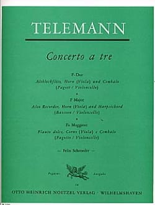 Concerto a Tre en Fa Majeur - laflutedepan.com