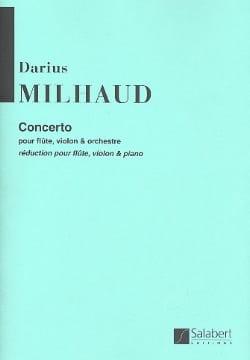 Darius Milhaud - Concerto For Flute And Violin And Orchestra - Sheet Music - di-arezzo.co.uk