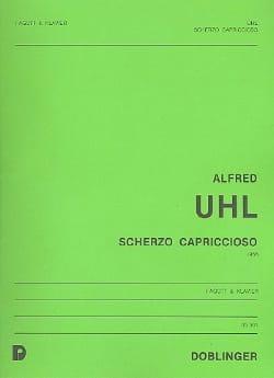 Scherzo capriccioso - Alfred Uhl - Partition - laflutedepan.com