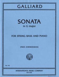 Sonata in F major Johann Ernst Galliard Partition laflutedepan