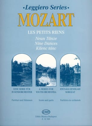Wolfgang Amadeus Mozart - Les petits riens – Orch. junior - Partition - di-arezzo.fr
