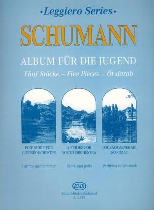 Album für die Jugend, 5 Stücke - String orch. junior laflutedepan