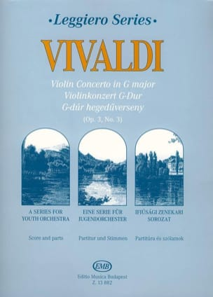 VIVALDI - Concerto in Sol Maj. RV 310 per violino, basso continuo - Sheet Music - di-arezzo.com