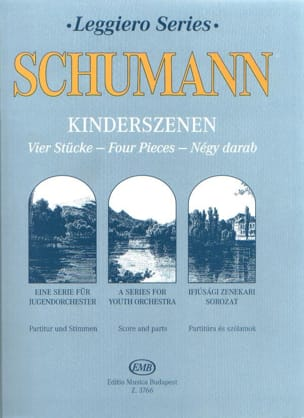 SCHUMANN - Kinderszenen op. 15, 4 Stücke - String orch. junior - Sheet Music - di-arezzo.co.uk