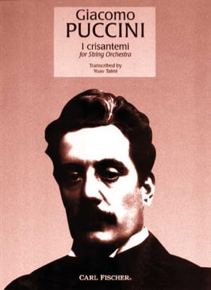 Les Chrysanthèmes - Giacomo Puccini - Partition - laflutedepan.com