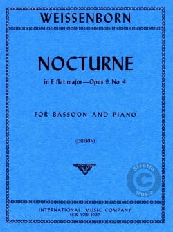 Julius Weissenborn - Nocturne Mag Major op 9 n ° 4 - Sheet Music - di-arezzo.co.uk