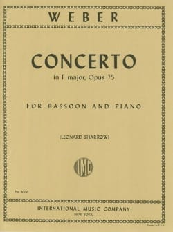 Concerto in F major op. 75 - Bassoon piano laflutedepan