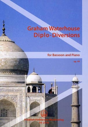 Graham Waterhouse - Diplo-Diversions op. 44 - Partition - di-arezzo.fr