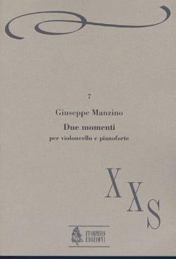 Giuseppe Manzino - Due Momenti - Partition - di-arezzo.fr