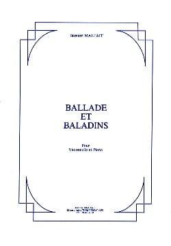 Ballade et Baladins Bernard Malfait Partition laflutedepan
