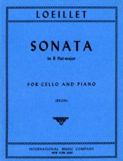Jean-Baptiste Loeillet - Sonate en si bémol majeur - Partition - di-arezzo.fr