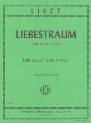 Liebestraum Dream of Love - Cello piano - laflutedepan.com