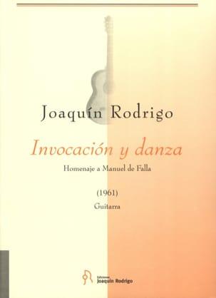 Invocacion y Danza - Joaquín Rodrigo - Partition - laflutedepan.com