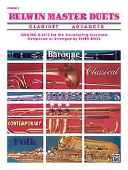 Belwin Master Duets, Volume 2 Clarinet advanced - laflutedepan.com