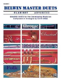 Belwin Master Duets Vol 1 Advanced - Partition - di-arezzo.fr