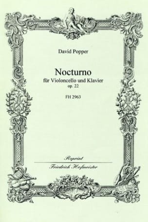 David Popper - Nocturne op. 22 - Partition - di-arezzo.fr