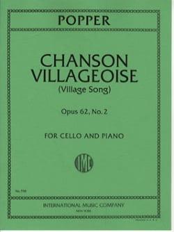 Chanson Villageoise op. 62 n° 2 - David Popper - laflutedepan.com
