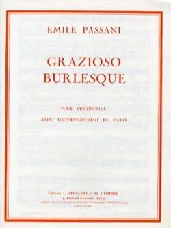 Emile Passani - Grazioso burlesque - Partition - di-arezzo.fr
