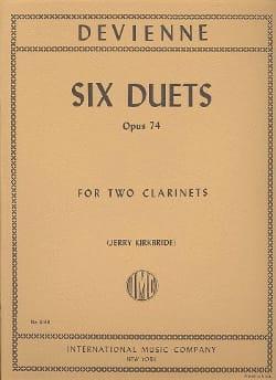 François Devienne - 6 Duets op. 74 - Partition - di-arezzo.fr