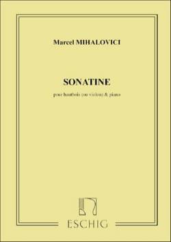 Marcel Mihalovici - Sonatine opus 13 - Partition - di-arezzo.fr