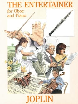Scott Joplin - The Entertainer - Oboe piano - Partition - di-arezzo.fr