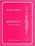 Bagatelles - Richard Walthew - Partition - laflutedepan.com