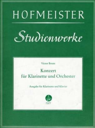 Victor Bruns - Konzert Nr. 1 op. 26 für Klarinette - Partition - di-arezzo.fr