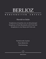 BERLIOZ - Harold in Italy - Partition - di-arezzo.co.uk