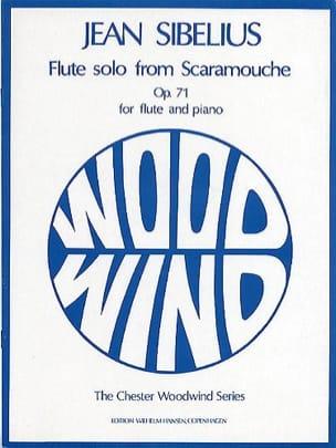 Jean Sibelius - Solo flute from Scaramouche op. 71 - Piano flute - Sheet Music - di-arezzo.co.uk