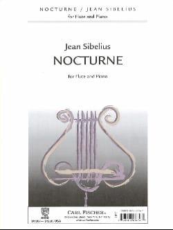 Nocturne - Flûte piano SIBELIUS Partition laflutedepan