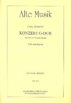 Konzert G-Dur – Flöte Klavier - Carl Stamitz - laflutedepan.com