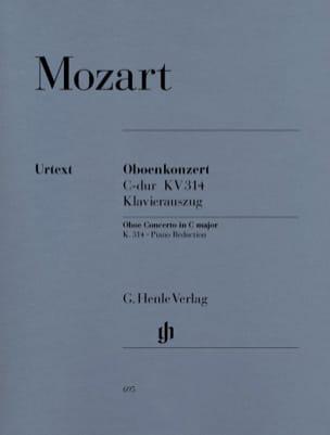 Concerto pour hautbois en Ut majeur K. 314 MOZART laflutedepan