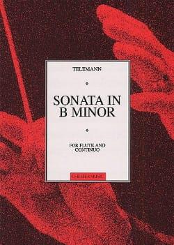 Sonata in B mineur - Flute and continuo - TELEMANN - laflutedepan.com