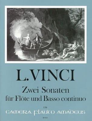 Leonardo Vinci - 2 Sonaten - Partition - di-arezzo.fr
