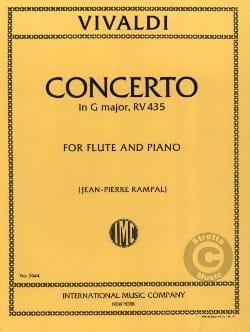 Concerto in G major F. 6 n° 15 - Flute piano VIVALDI laflutedepan