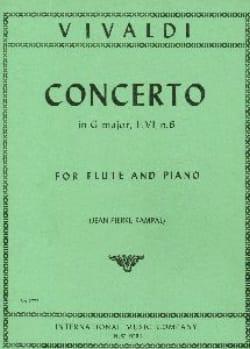 VIVALDI - Concerto in sol maggiore F. 6 n.6 flauto per pianoforte - Partitura - di-arezzo.it