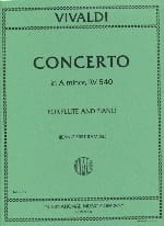 VIVALDI - Concerto in A minor F. 6 n° 7 - Flute piano - Partition - di-arezzo.fr