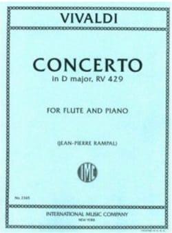 VIVALDI - Concerto in D major F. 6 n° 10 P. 205 - Partition - di-arezzo.fr